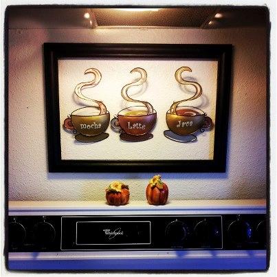 Customer Image Gallery for Coffee Cup Latte Mocha Java Metal Wall ...