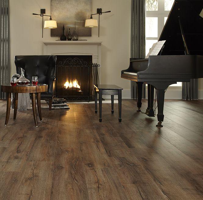 Highland Hickory Luxury Vinyl Plank Flooring Ivc