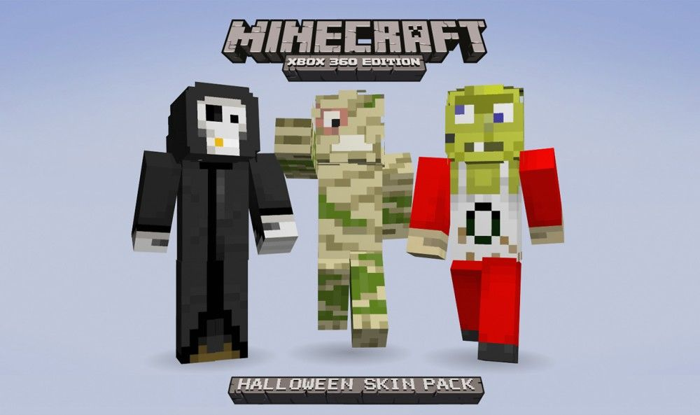 Ancient Mummy in Minecraft: Xbox 360 Edition Halloween ...
