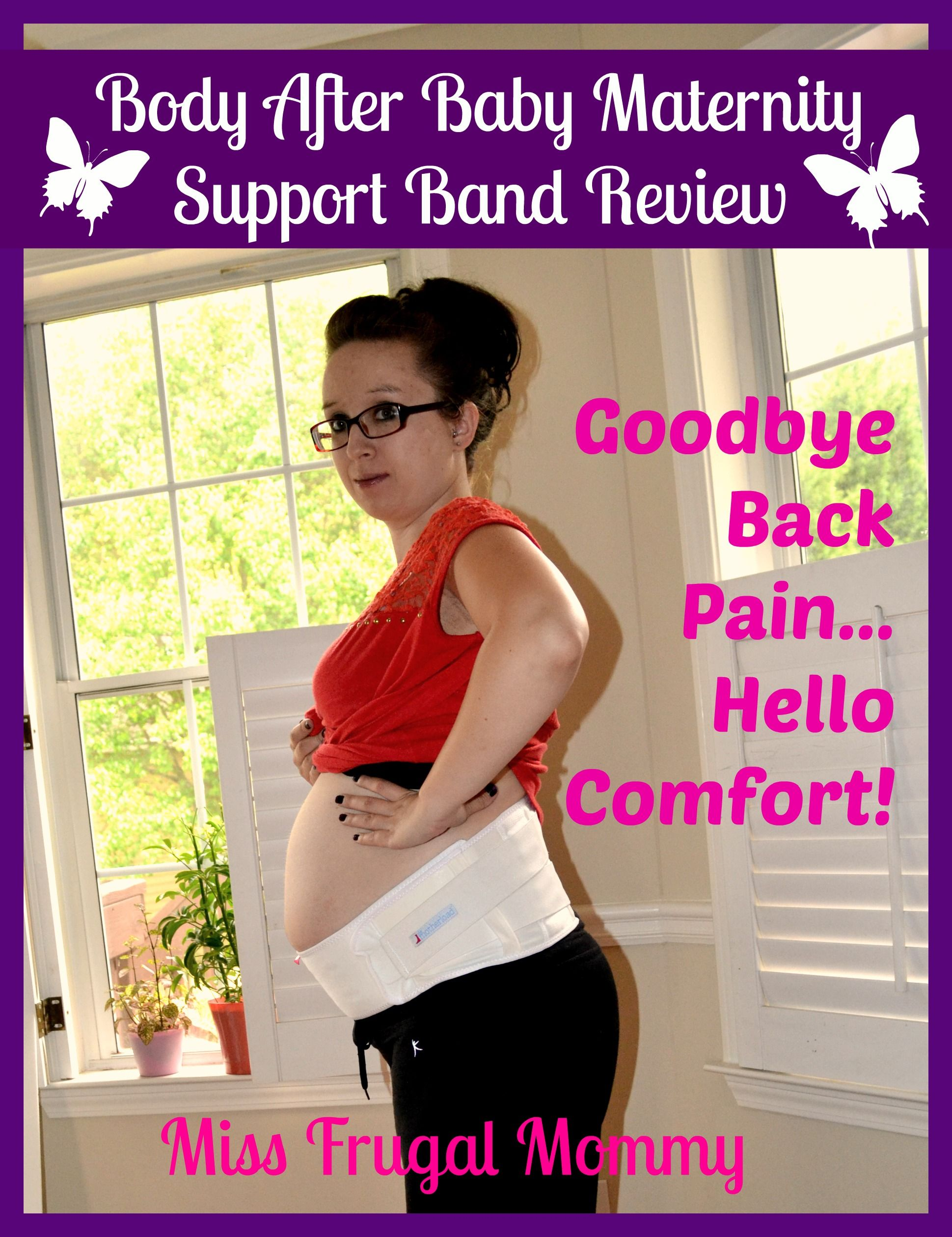 Body After Baby: The Motherload Maternity Support Band Review