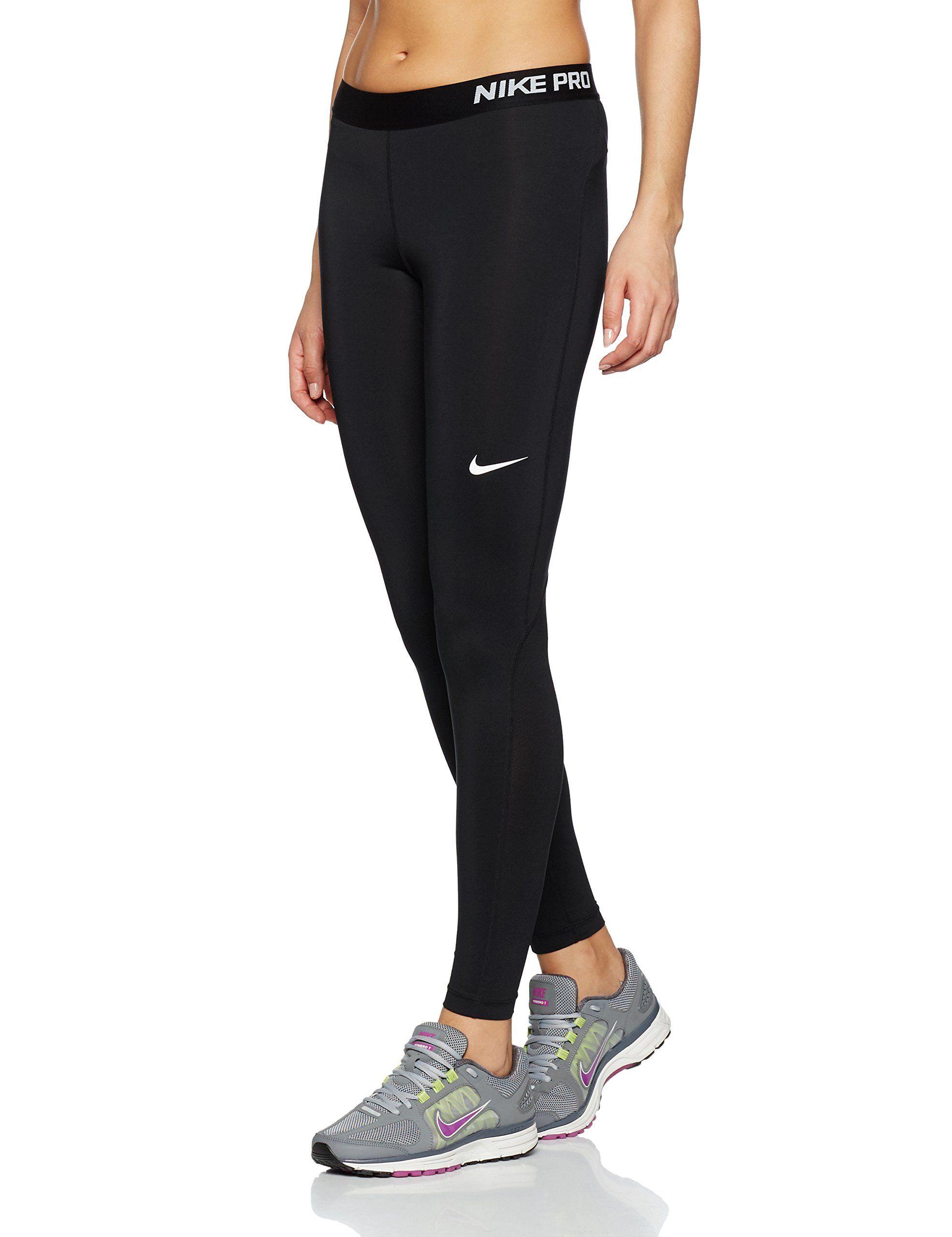 9256d1b436e Nike Pro Women s Training Tights at Amazon Women s Clothing store ...