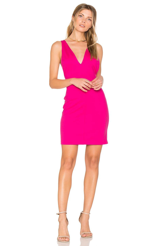 Amanda Uprichard Portsmouth Dress in Hot Pink  225d86f9d1
