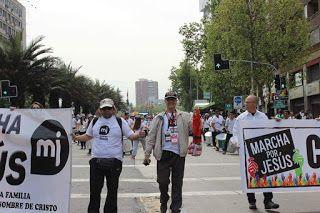 David Yañez Osses: Recuerdo Marcha Por Jesús Chile 2015