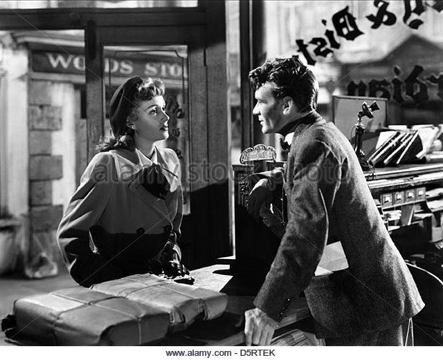 So Well Remembered (1947).  A candidate for city librarian is supported by the newspaper editor, against the wishes of the town.  And the drama ensues!