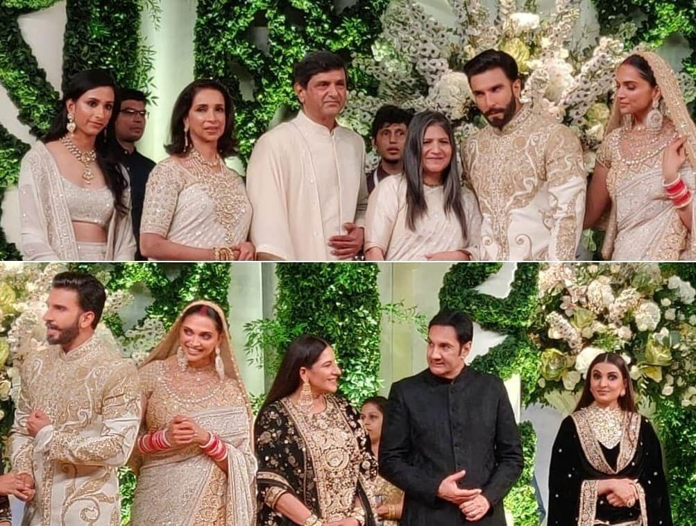 Shaadiwish Indianbride Indiangroom Deepikapadukone Ranveersingh Deepveerwedding Celebrityweddin Celebrity Weddings Bollywood Wedding Indian Wedding Deco