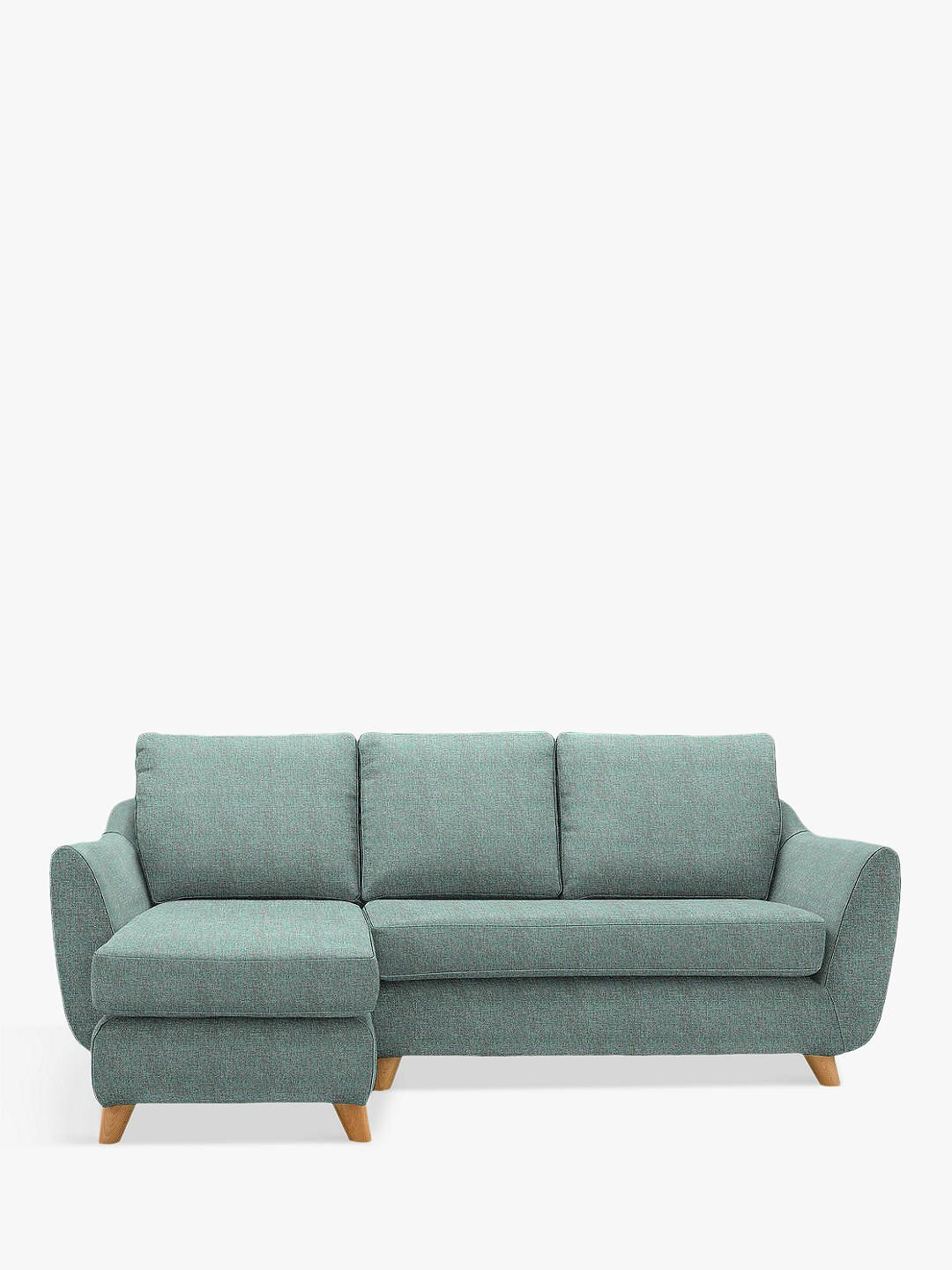 G Plan Vintage The Sixty Seven LHF Chaise End Sofa, Marl Sky ...