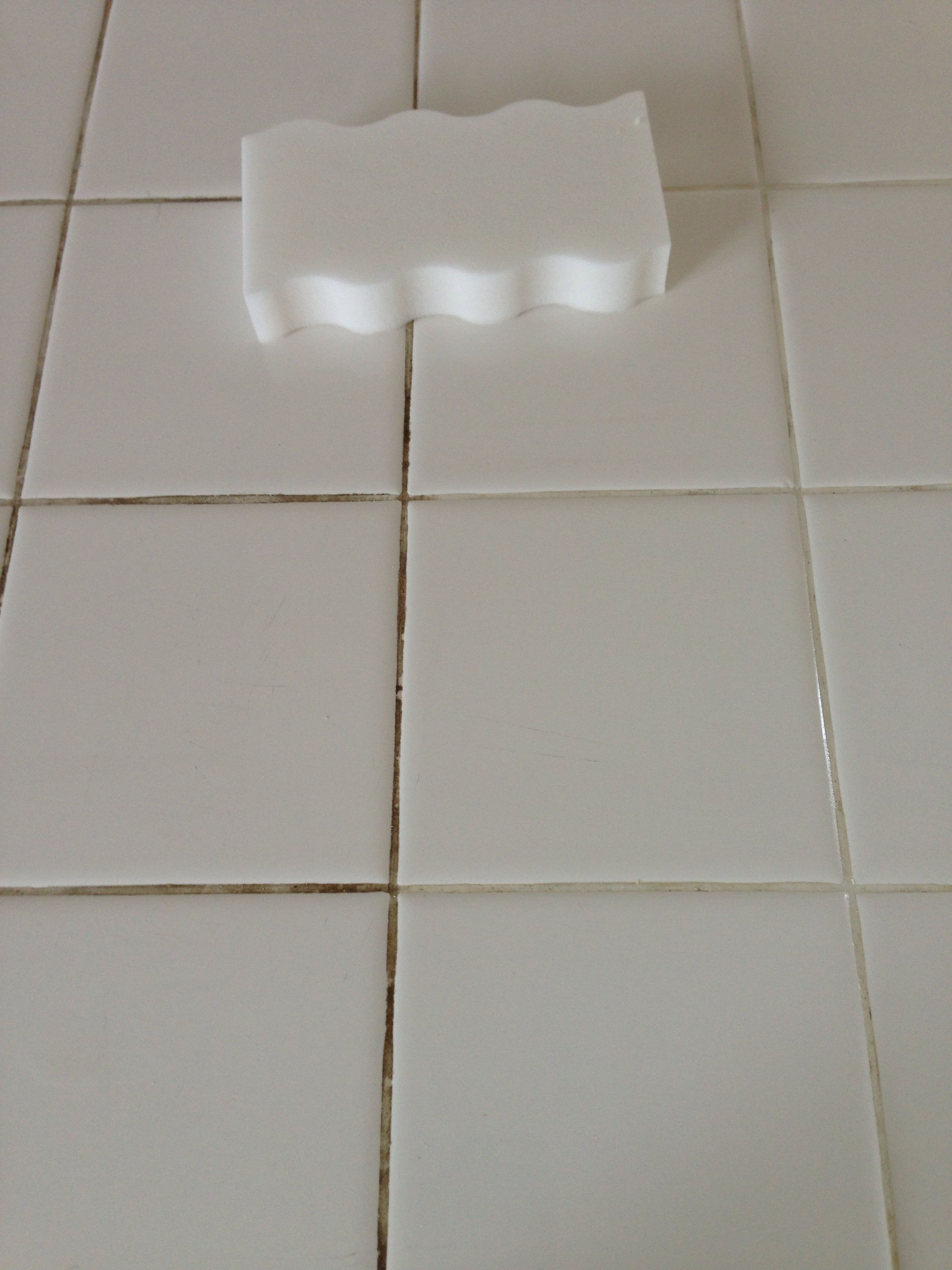 Grout Cleaner Mr Clean Magic Eraser Extra Power It Really Worked