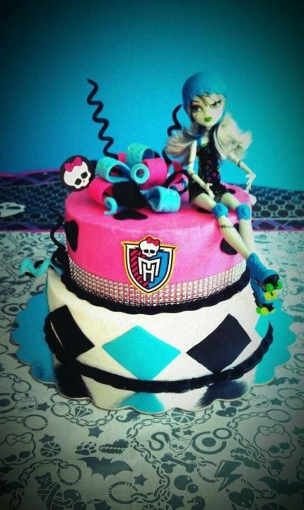 Monster High Cake By Dulce Galeria