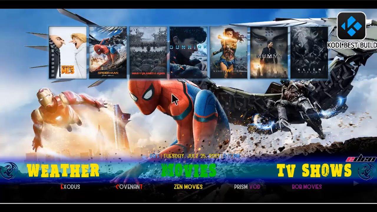 The Most Complete Kodi Krypton 17 4 Build October 2017 Eden
