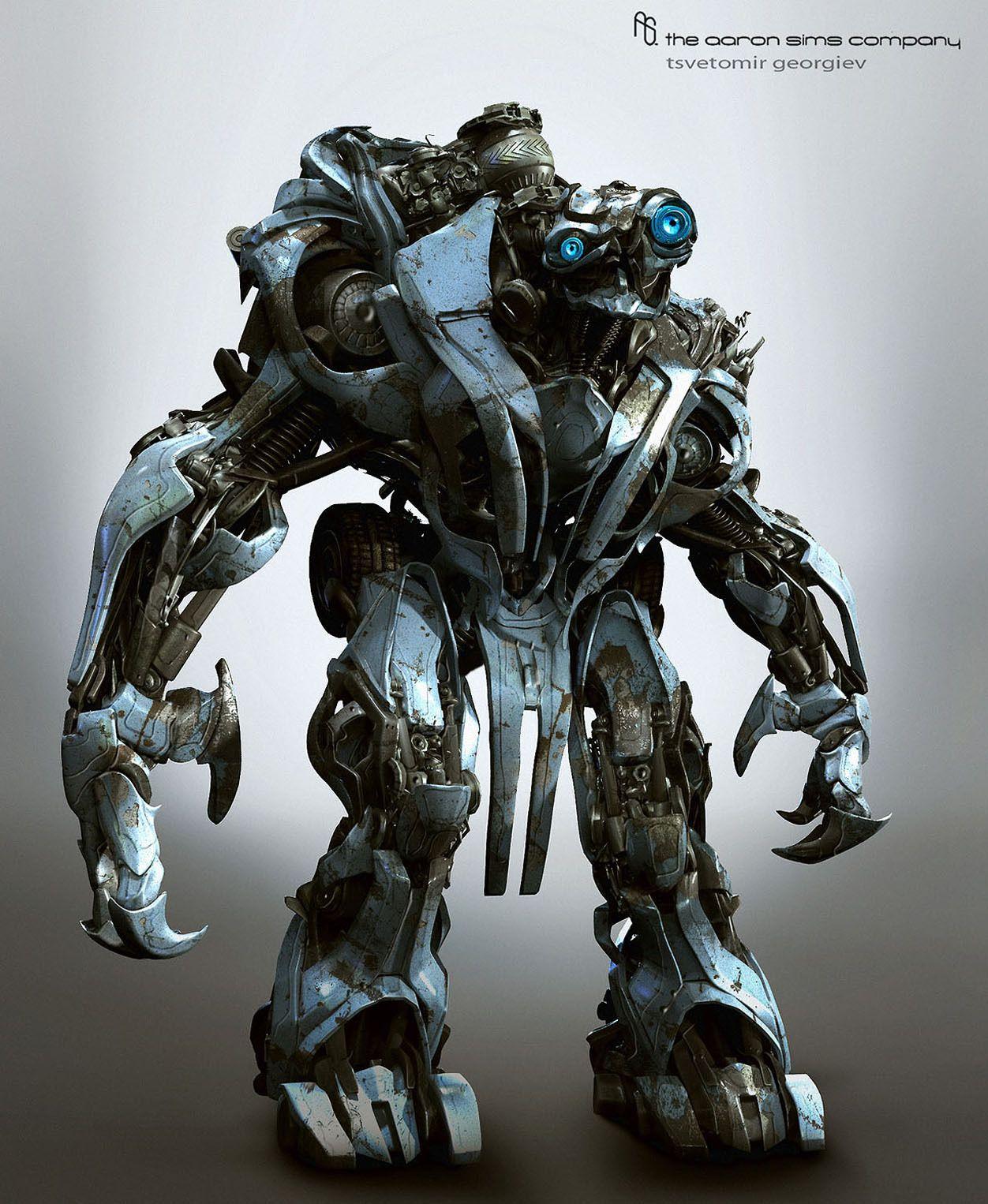 Sci Fi Transformer : Thor sci fi robot digital art  iwallhd