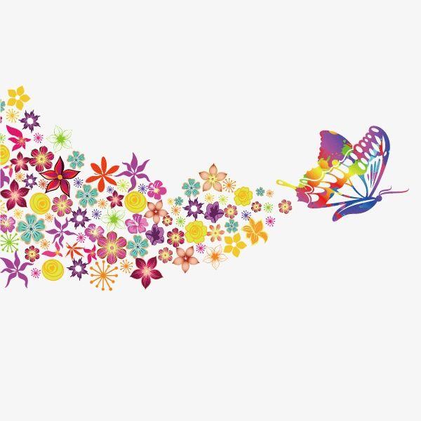 نمط زخرفي فراشة الفراشة الملونة فراشة Png وملف Psd للتحميل مجانا Colorful Butterflies Vintage Roses Disney Decals