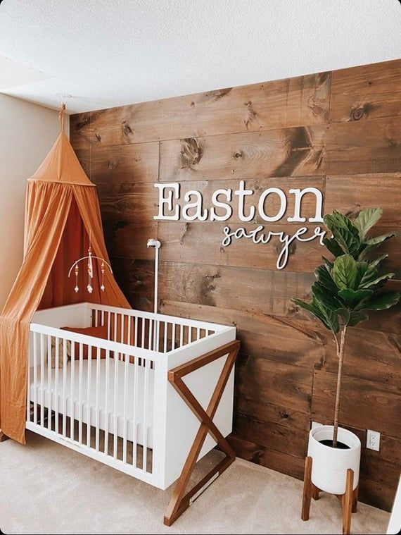 Double baby name sign | Nursery wall decor | Nurse