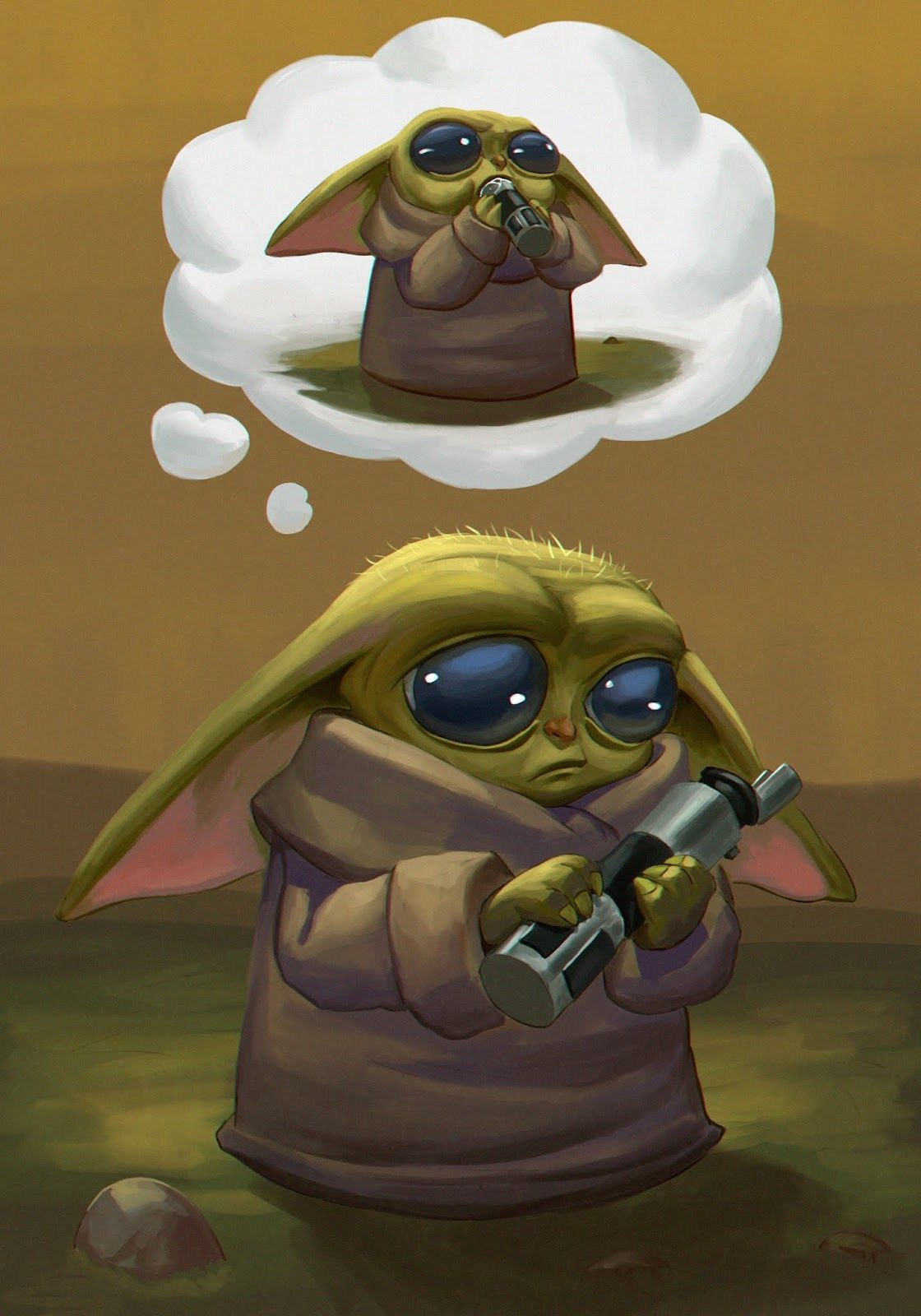 "The child ""Baby Yoda"" background wallpapers Yoda"