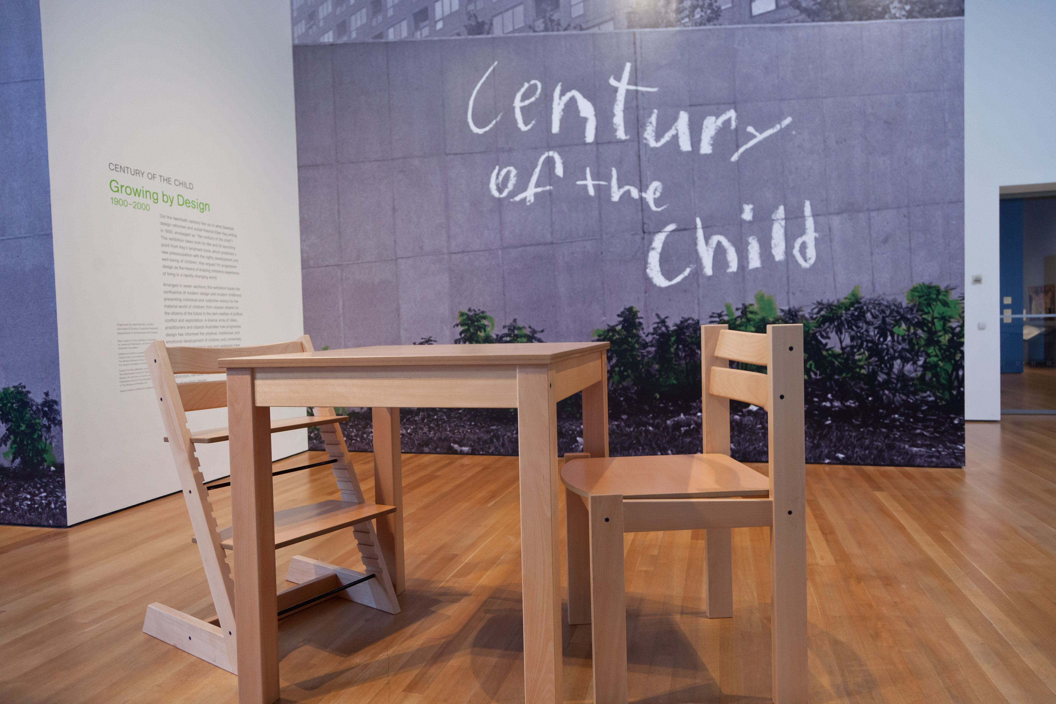Stokke High Chair Accessories Uk Active Sitting Giant Tripp Trapp At The Modern Museum Of Art
