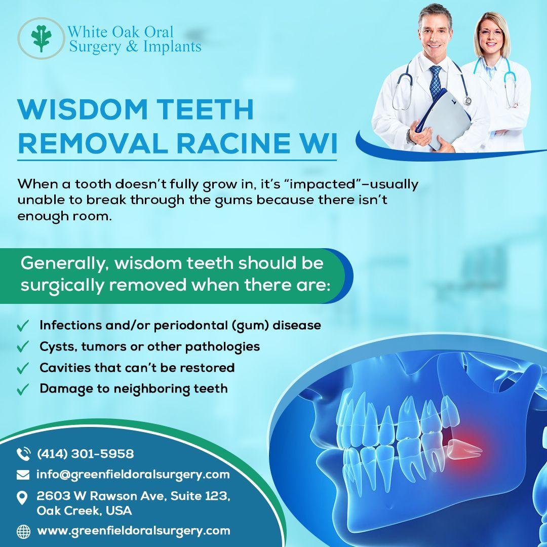 Wisdom Teeth Removal Racine WI in 2020 Wisdom teeth