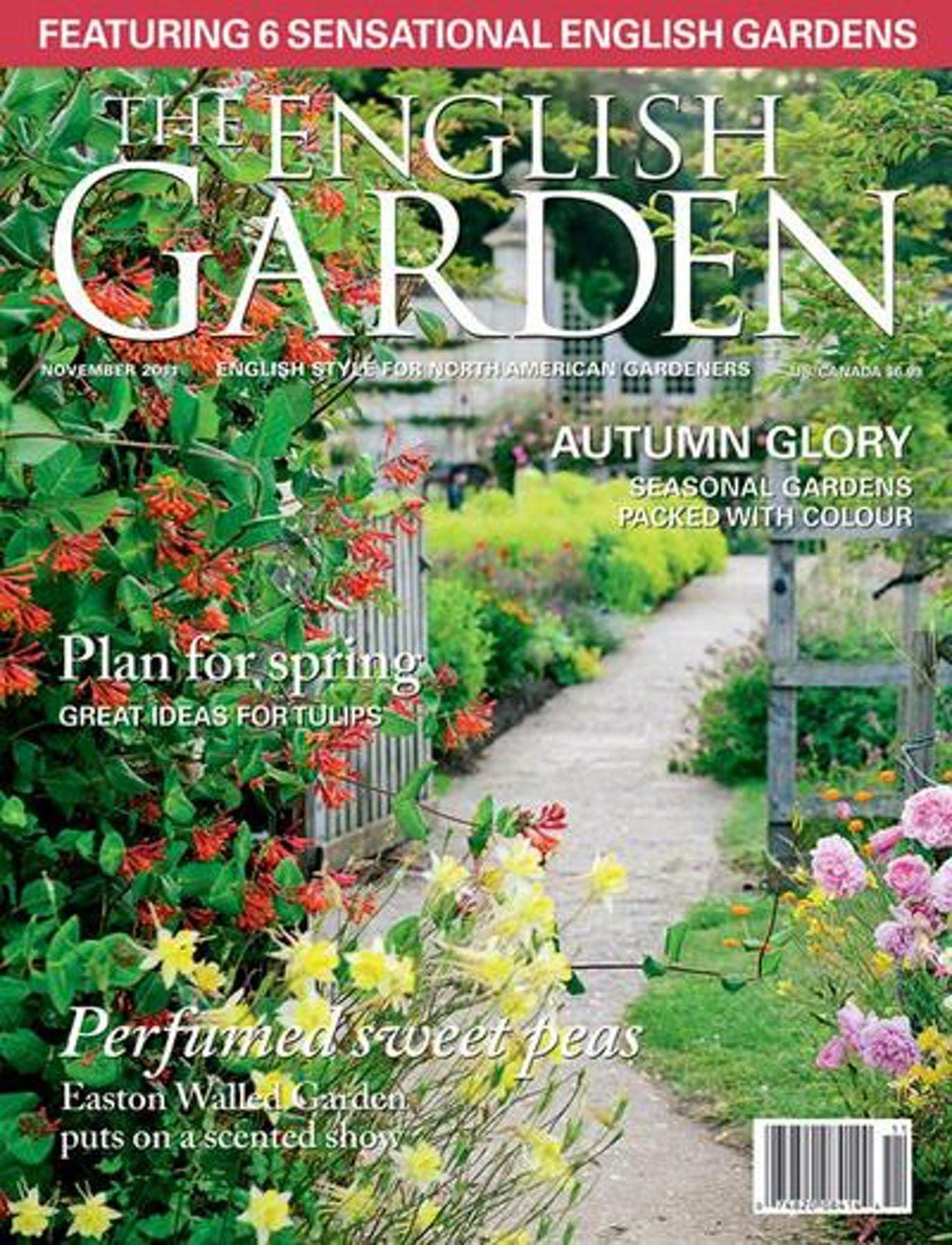 The English Garden 6 Issues Gardening Magazines Beautiful