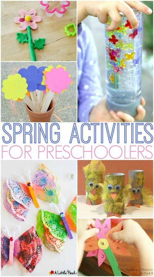 Spring Activities For Preschoolers Spring Activities