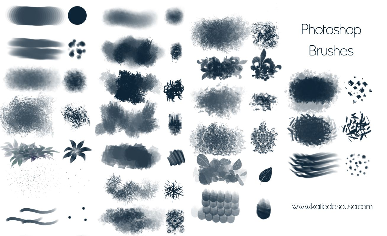 Brushes For Character Design : Free digital brushes for artists ★ character design