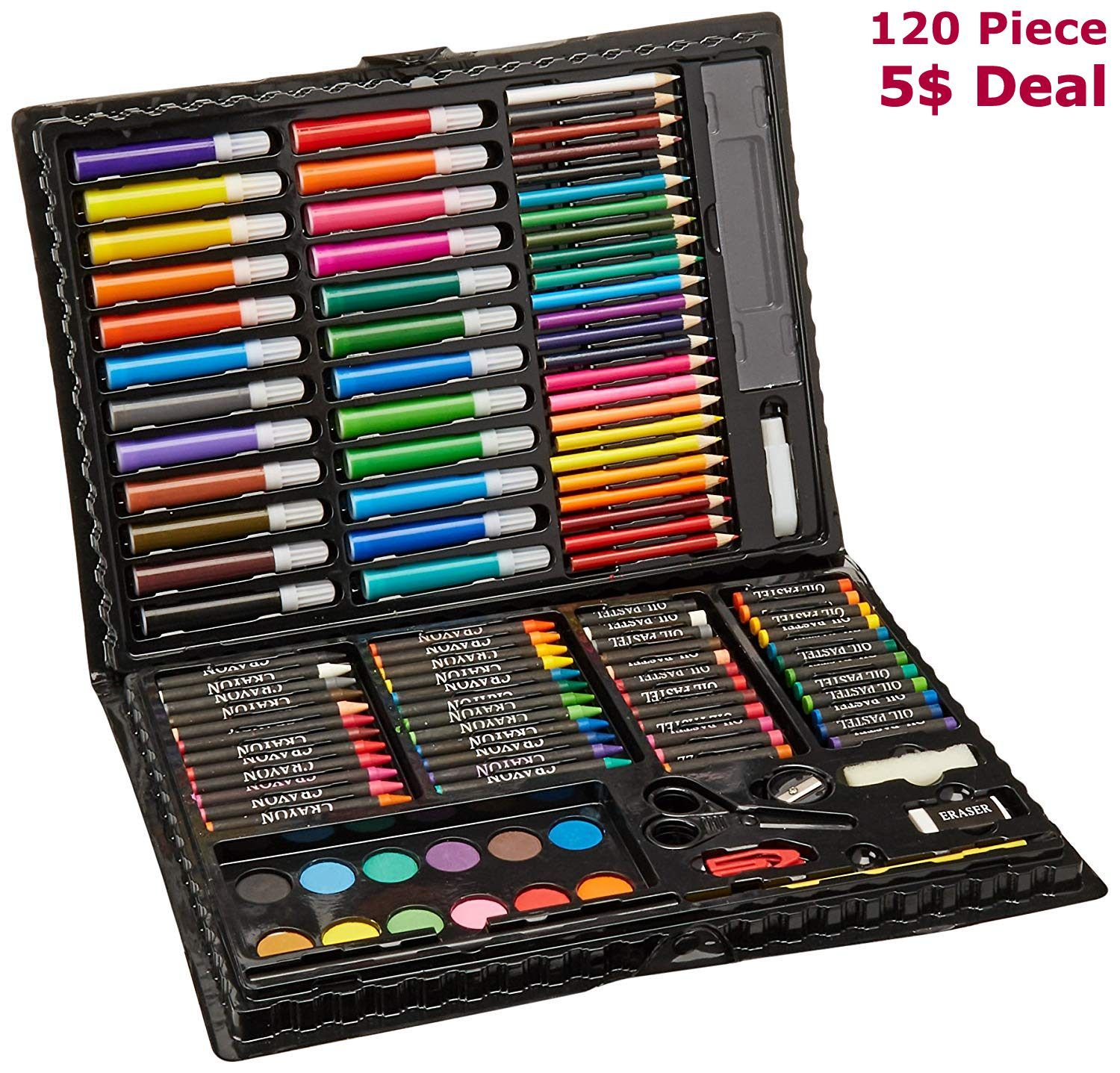 Art Set Art Supplies For Drawing Painting And More In A Compact