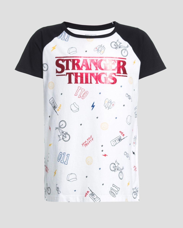 a55a3a2ff Camiseta Stranger Things Simbols - Stranger-Things - Maio 2018 - Home  Principal - Campanhas