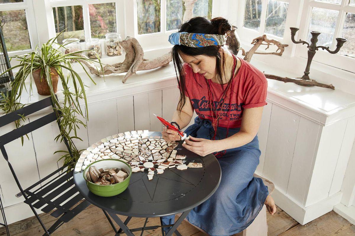 Apprenez r aliser votre propre table de jardin en for 1001 trucs et astuces pour le jardin