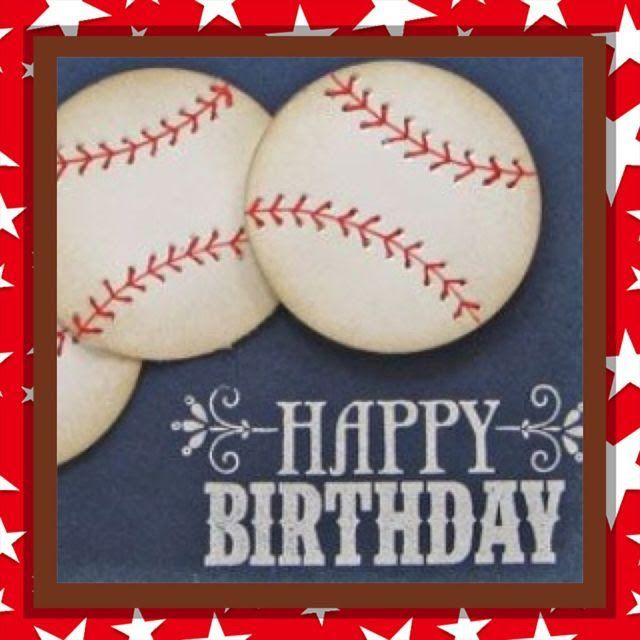 Pin By Joni Devries On Cards Happy Birthday Baseball Happy