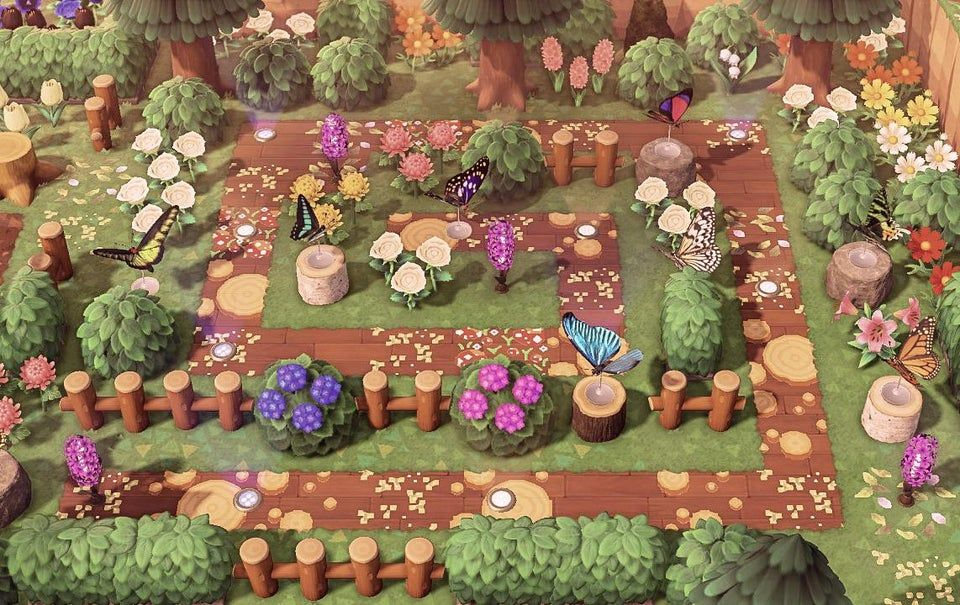 Butterfly Garden Animalcrossing In 2020 New Animal Crossing Animal Crossing Game Animal Crossing