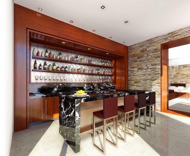 Bar em casa veja ideias simples e sofisticadas para for Bar casa minimalista