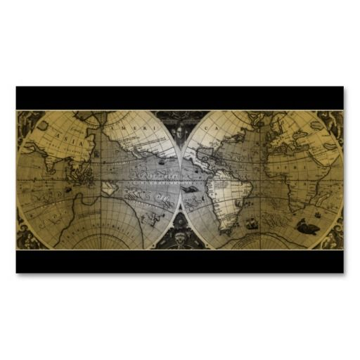 Travel business card world map globe gold programmer business card travel business card world map globe gold gumiabroncs Choice Image