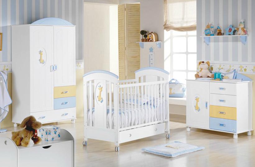 Dormitorios bebes varones buscar con google bedroom for Decoracion dormitorio bebe varon