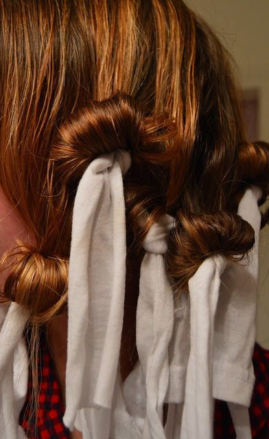 Lots Of Lys : Overnight No-Heat Curls In 2019