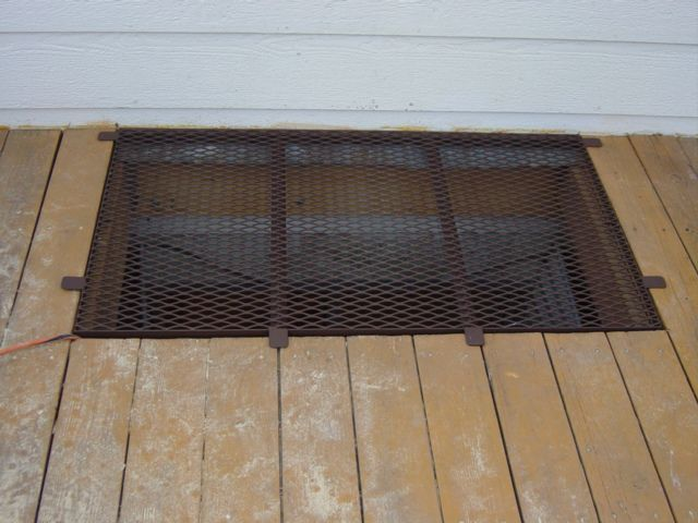 Basement Window Well Covers Inside Mesh Building A