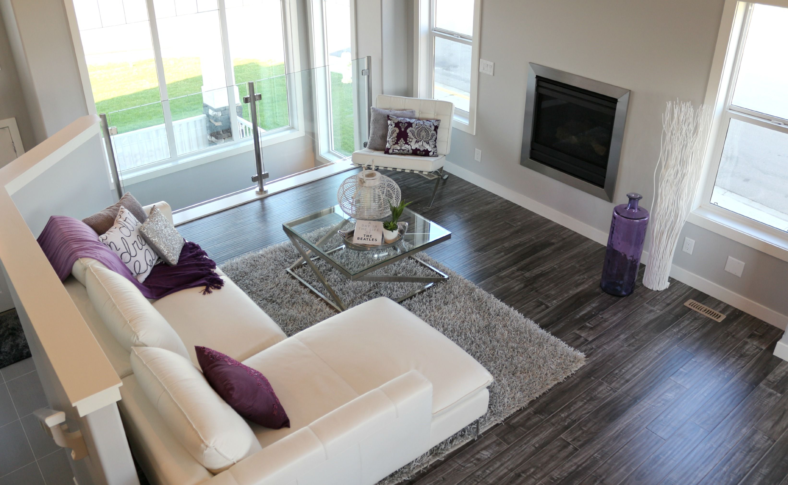 White wash campfire laminate flooring show home 1 - White laminate flooring for bathroom ...