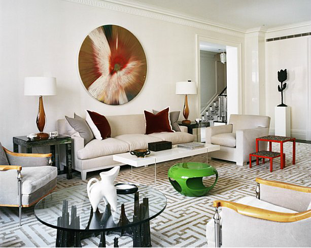 The Decorating Flexibility Of Grey Geometric Rugs 10 Chic
