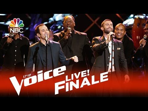 "The Voice 2015 Joshua Davis and Adam Levine - Live Finale: ""Diamonds on the Soles of Her Shoes"" - YouTube"