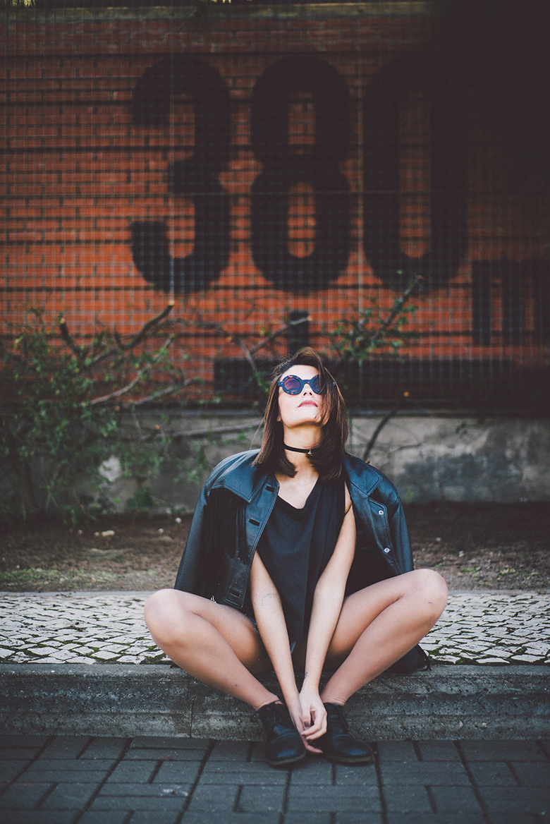 060b97699189c Banging Fashion  Trendy Blogger Womens Fashion Thick Round Sunglasses 8980
