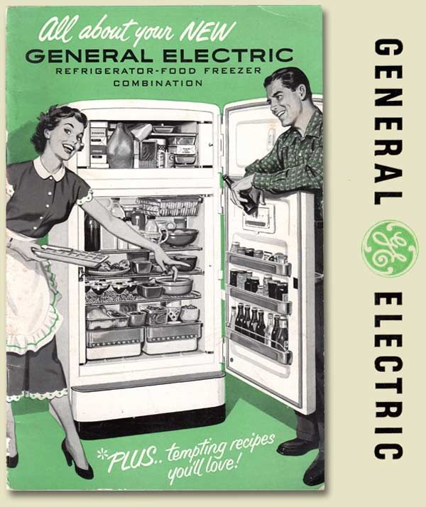 1950s general electric refrigerator manual