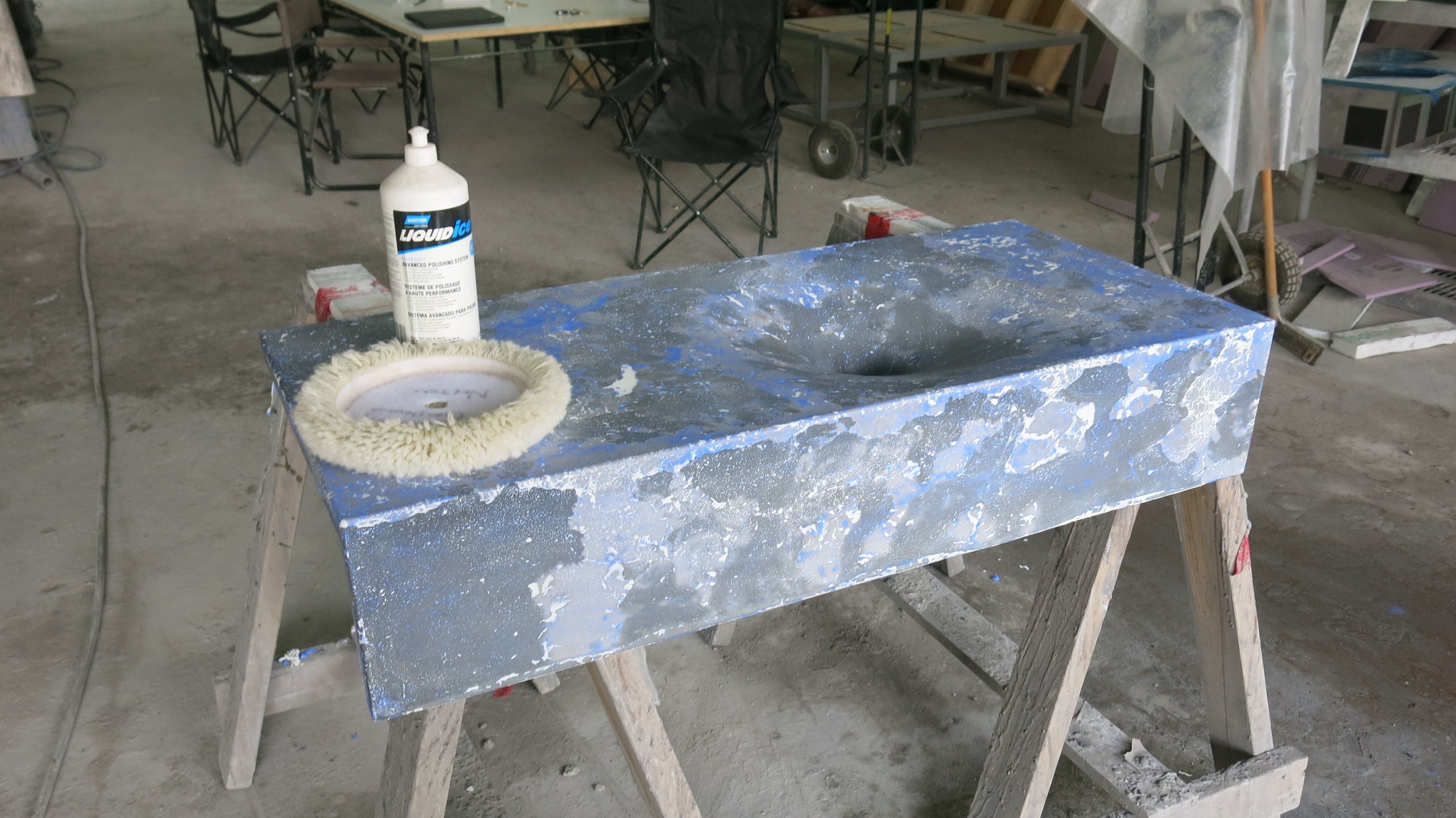 How To Use Your Brand New Omega Concrete Countertop Sealer To