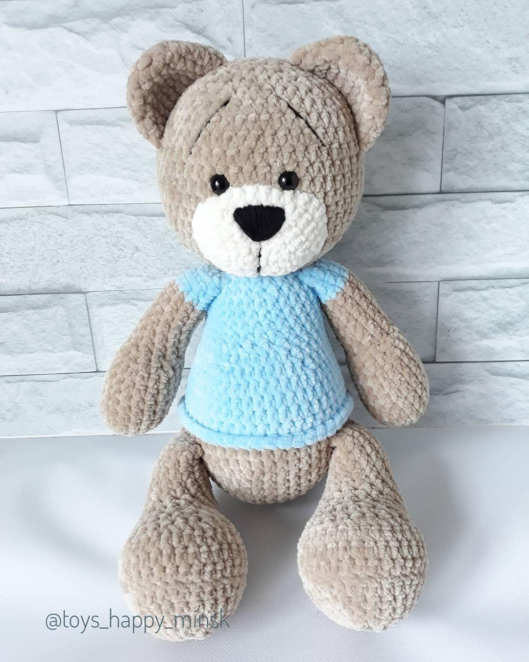 Awesome Crochet Teddy Bear Easy Free Patterns in 2020 | Crochet ... | 1350x1080