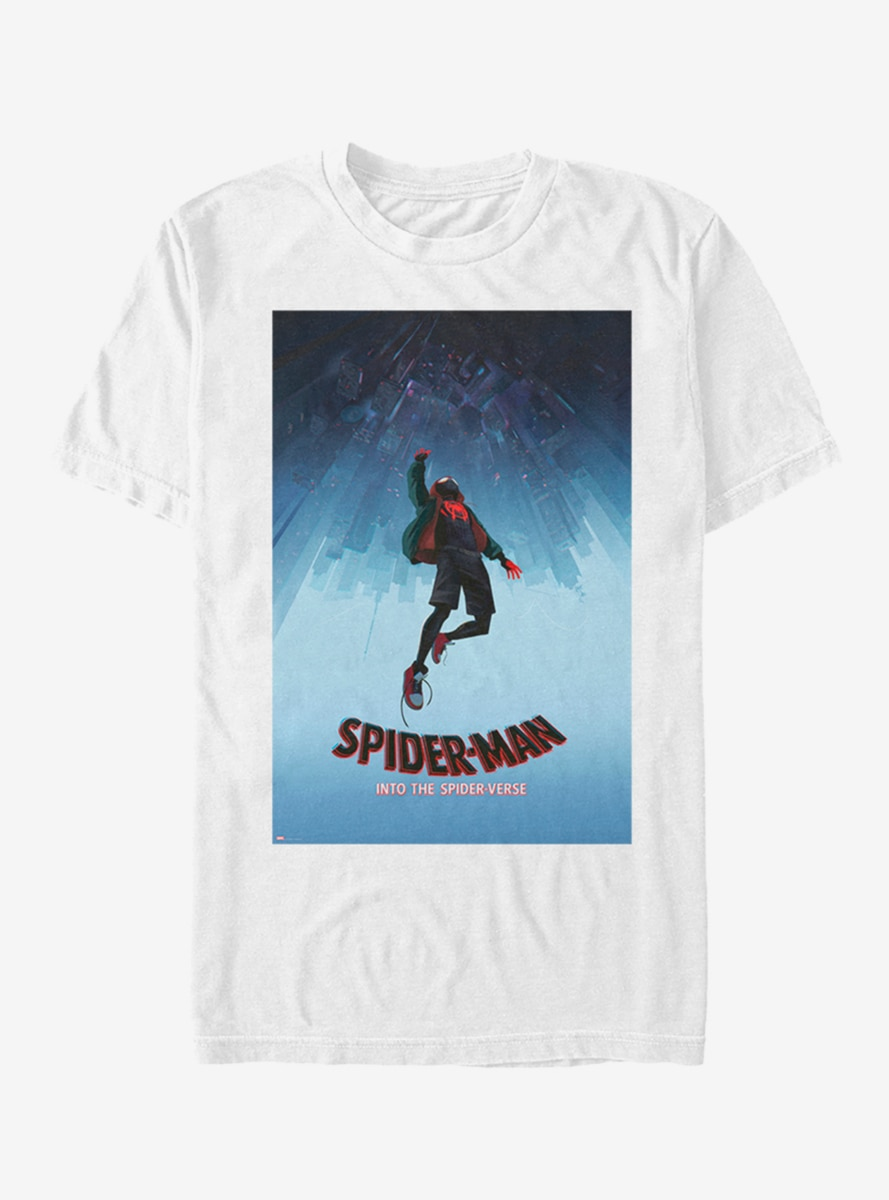 e9625adc Marvel Spider-Man: Into The Spider-Verse Miles Morales Poster T-Shirt