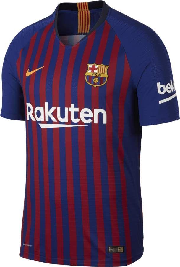 496fcca0653 Nike 2018/19 FC Barcelona Vapor Match Home Fc Barcelona, Soccer, Hs Football