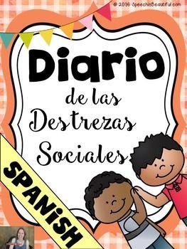 Spanish Social Skills Journal - Diario de las Destrezas Sociales