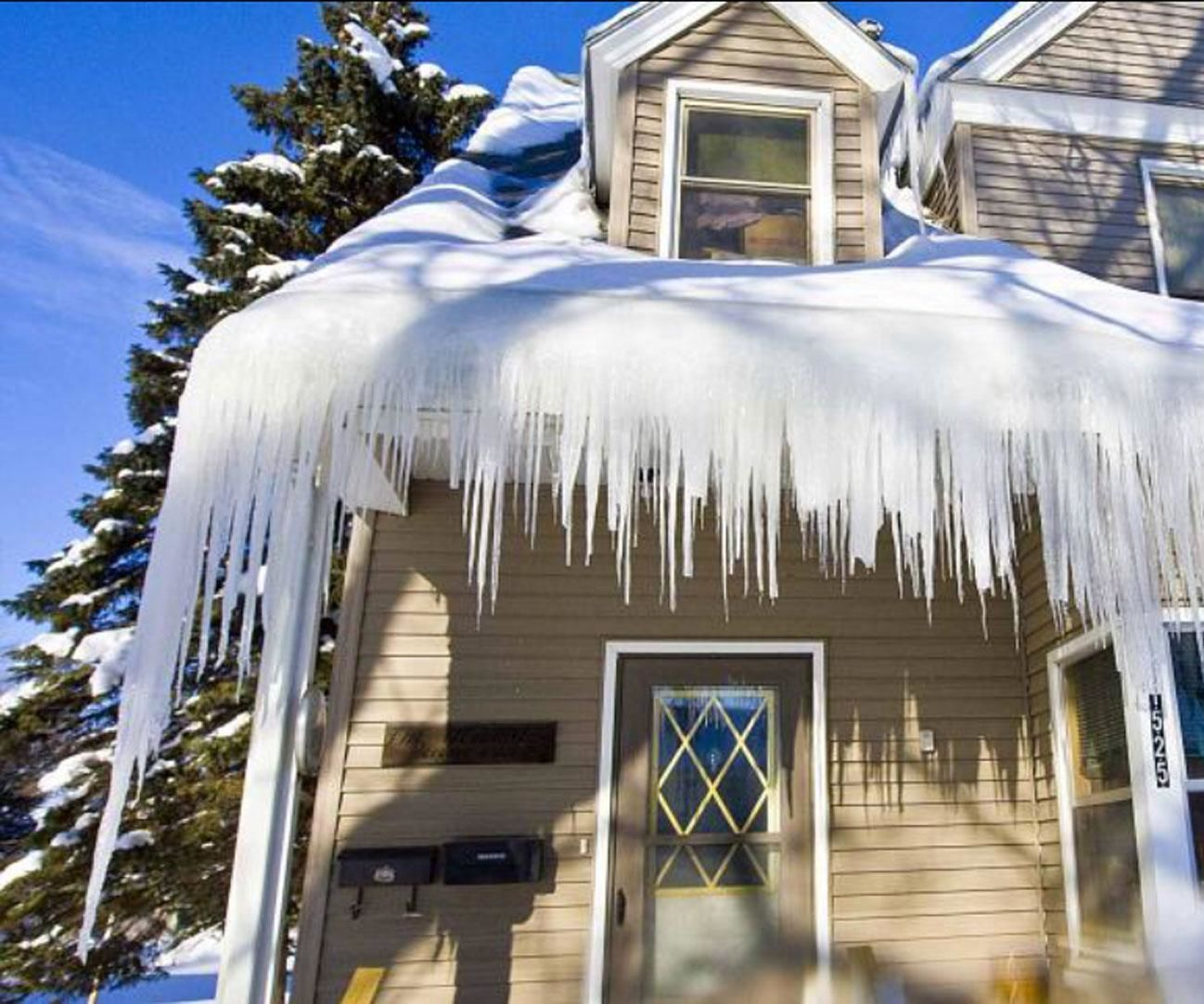 See How To Remove Ice Dams At Your Home For Good Use These Tips For Preventing Ice Dams From Every Coming Back At Any Real Estate Real Estate Articles