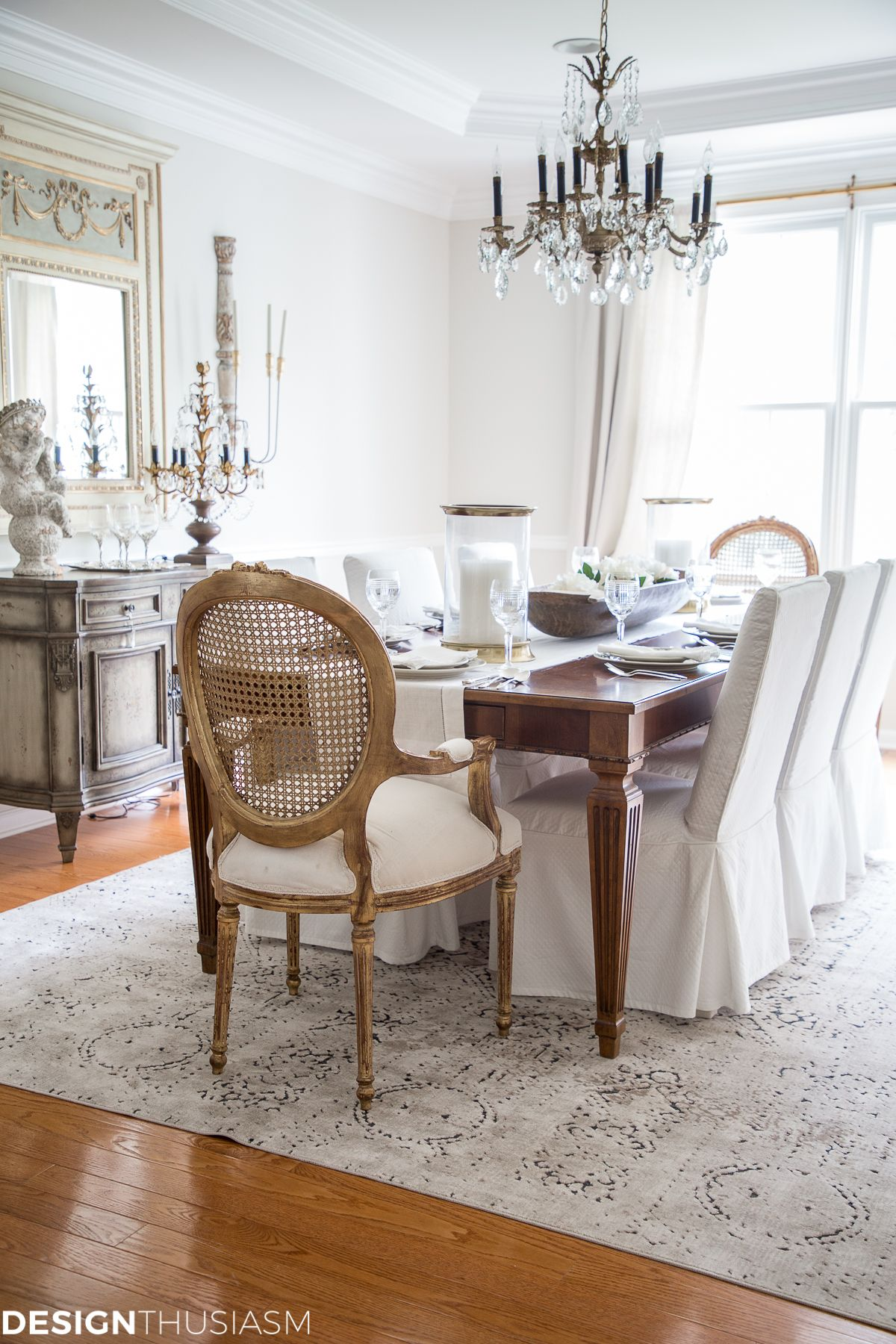 From Old School To Modern The Evolution Of A French Country Dining Room French Country Dining Room Country Dining Rooms French Country Living Room