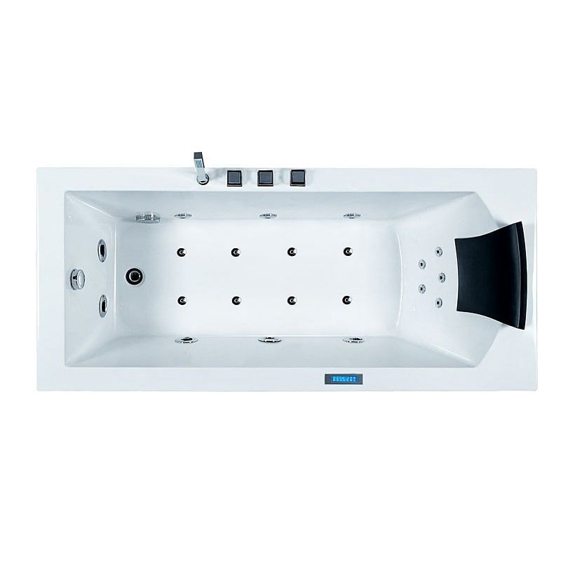 Shop Ariel Bath AM154JDTSZ Ariel Platinum Freestanding Whirlpool ...