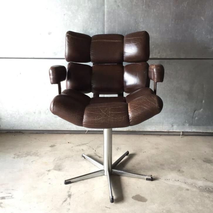 Vintage Design Bureaustoel.Jaren 50 60 70 Retro Vintage Design Bureaustoel Retro Vintage