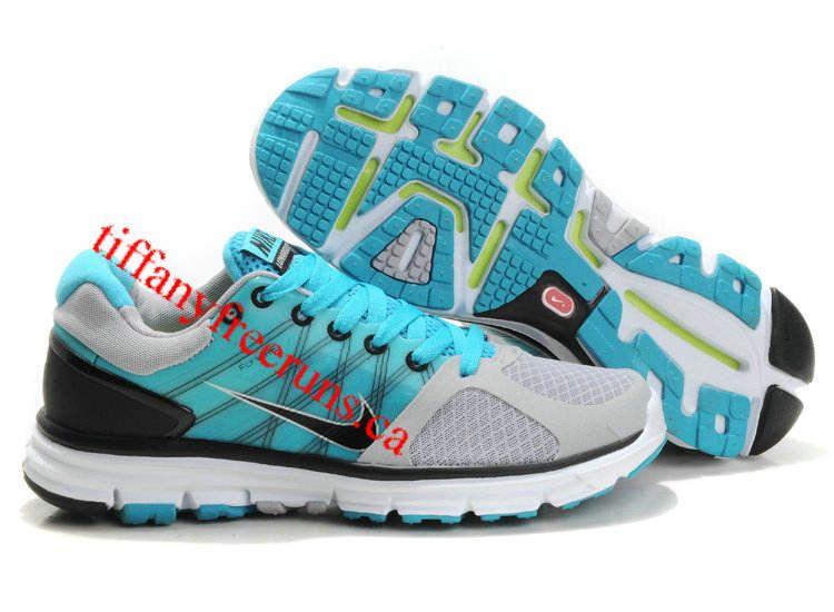 Mens Nike Lunarglide 2 Wolf Grey/Black/Chlorine Blue/Pure Platinum