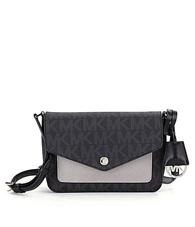 77ed1e3eda553a MICHAEL Michael Kors Greenwich Color Pocket Small Flap CrossBody Bag  #Dillards