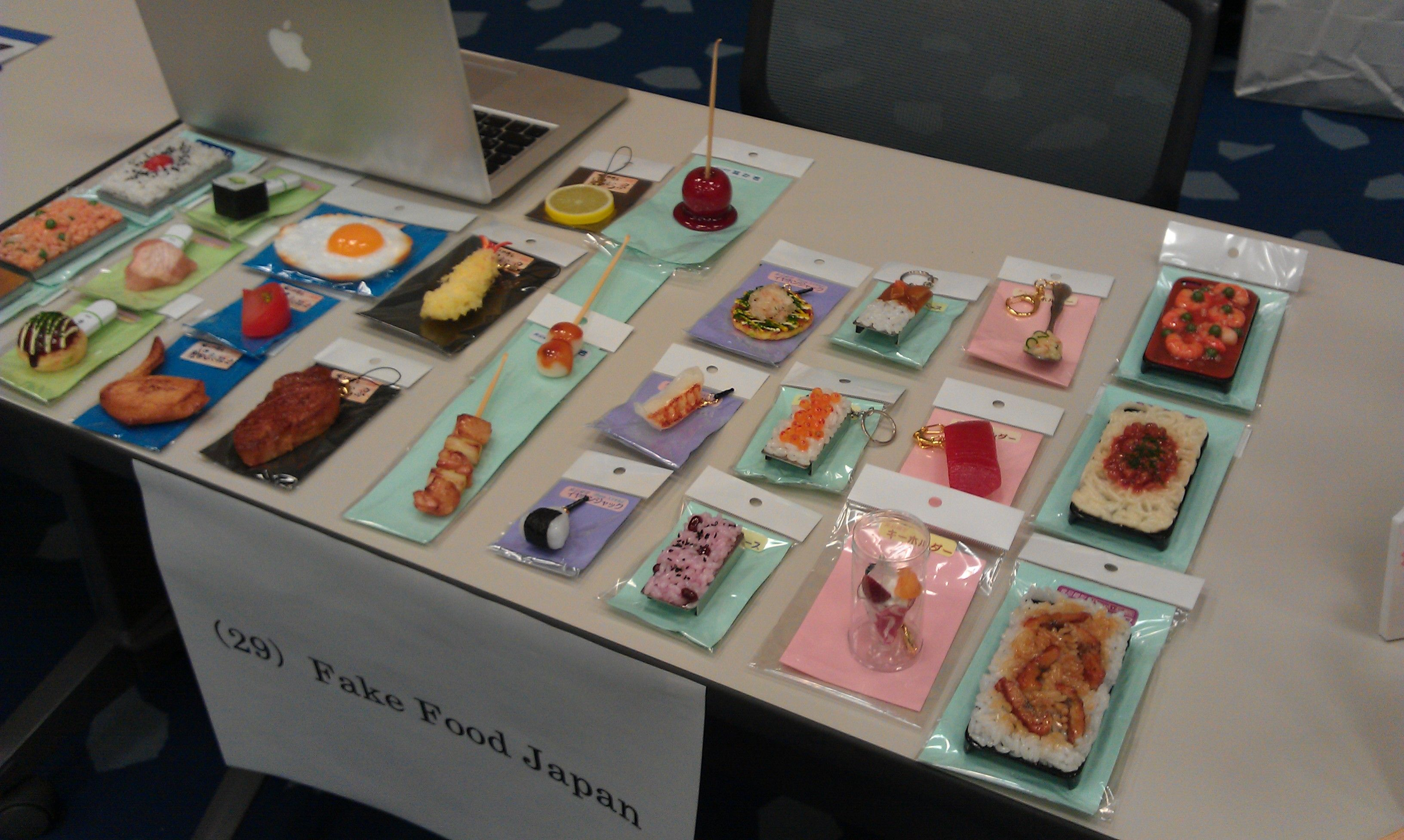Here's our product lineup that we showcased at the Osaka Sansokan business matching event on August 7, 2012.