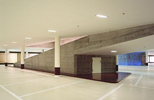 Marco Serra Novartis Campus Main Gate Car Park Ht R E F